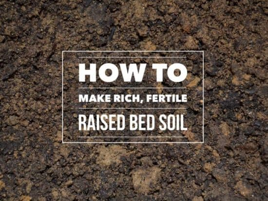 Creating Raised Bed Gardening Soil