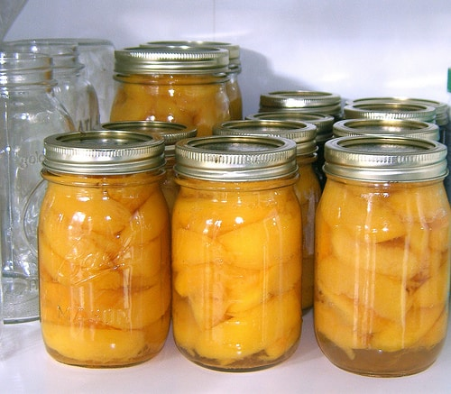 Preserving Peaches: Freezing and Canning