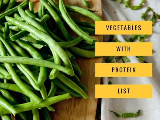 List of Vegetables with Protein
