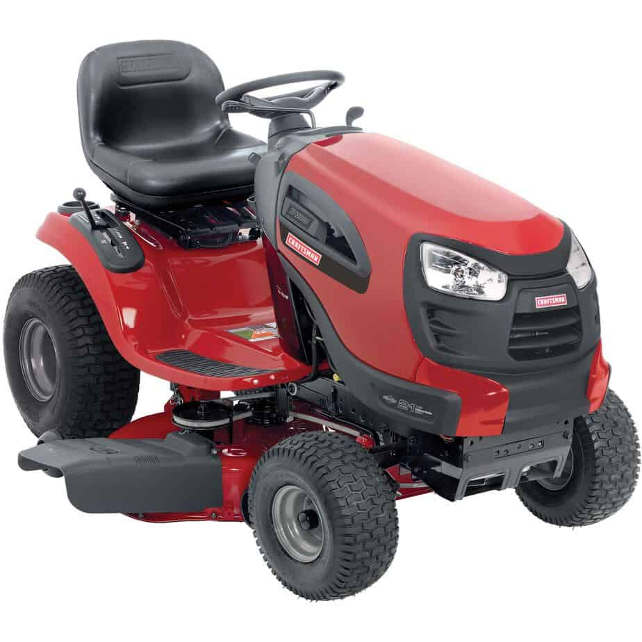 Sears Craftsman Riding Lawn Mower : Best riding lawnmower for consider these mowers