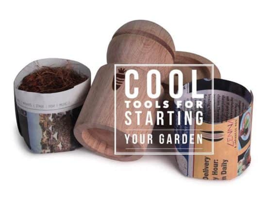 cool tools for starting vegetable garden